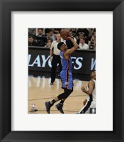 Framed Russell Westbrook 2016 NBA Playoff Action