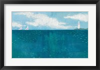 Framed Lighthouse Sail