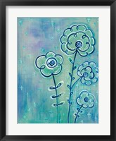 Magical Flowers III Framed Print