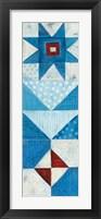 Modern Americana Panel II Framed Print