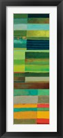 Fields of Color I Framed Print