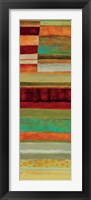 Fields of Color V Framed Print