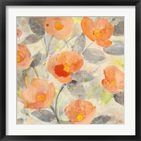 Poppy Garden II Framed Print