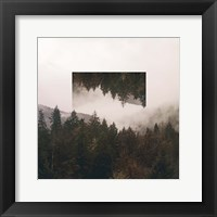 Reflected Landscape I Framed Print