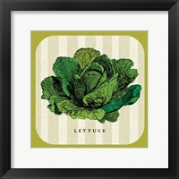 Framed Linen Vegetable II