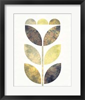 Golden Flower I Framed Print