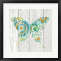 Spring Dream Paisley IX Framed Print