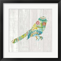 Spring Dream Paisley X Framed Print