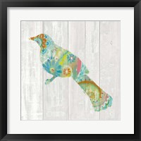 Spring Dream Paisley XI Framed Print