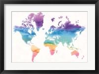 Framed Watercolor World