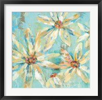 Fjord Floral I Framed Print