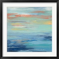 Sunset Beach I Framed Print