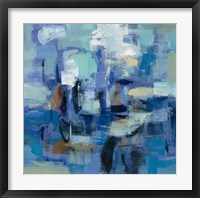 Ultramarine Waves II Framed Print