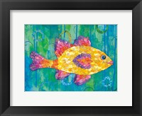 Yellow Fish Framed Print