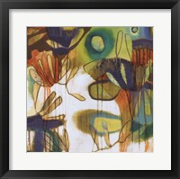 Tropical Burst I Framed Print