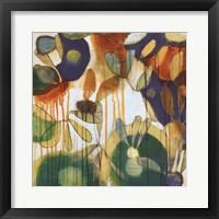 Tropical Burst II Framed Print
