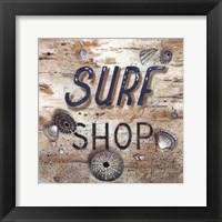 Framed Surf Shop