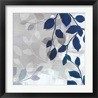 Leaves in the Mist I Framed Print