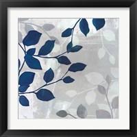 Leaves in the Mist II Framed Print