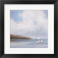 Sailing Day II Framed Print