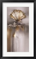 Silver and Gold Treasures I Framed Print