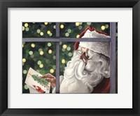 Framed Letter To Santa