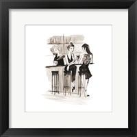 Entertain illo 2 Framed Print