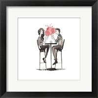 Entertain illo 3 Framed Print