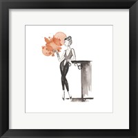 Entertain illo 4 Framed Print