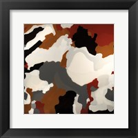 Framed Brown Camo