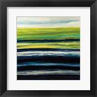 Framed Emerald Horizon