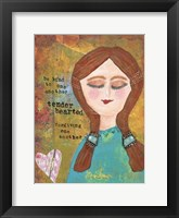 Be Kind To One Another Framed Print