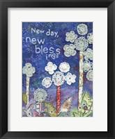 Framed New Day New Blessings