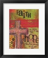 Framed Faith And Hope