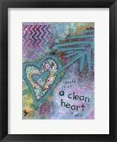 Framed Heart Of God