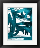 Blue Cynthia 2 Framed Print