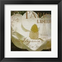 Magnolia Paris Mate Framed Print