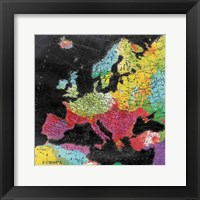 Bright World Framed Print