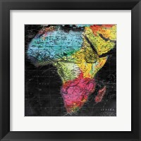 Bright World Mate Framed Print