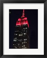 Framed Big Red New York