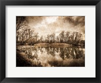 On the River 2 Framed Print
