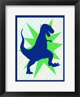 Framed Dinosaur 1