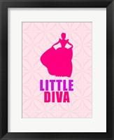 Diva Framed Print