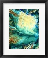 Teal Day 1 Framed Print