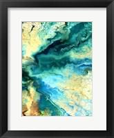Teal Day 2 Framed Print