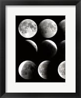 Moon Phase 1 Framed Print