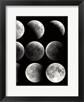 Moon Phase 2 Framed Print