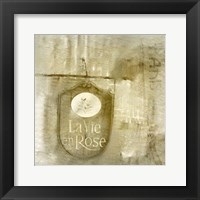 LaVie en Rose Framed Print