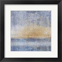 In Blue 1 Framed Print