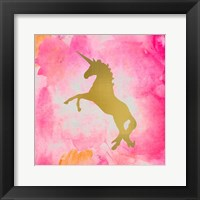 Unicorn Square 2 Framed Print